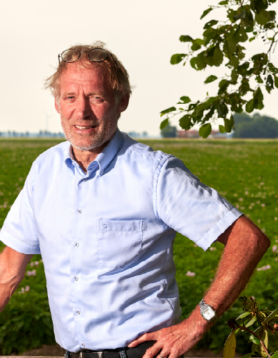 Harry Goos bewaarcoach van aardappelen en uien